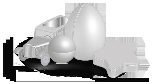 boite metal aluminium fabrication forme jouet originale divers