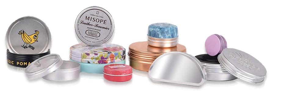 réalisation boite aluminium fabrication métal cosmétique