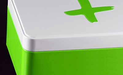 boite metal aluminium fabrication couvercle bord