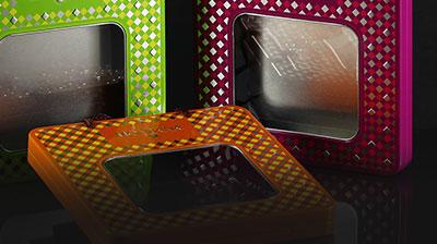 boite metal aluminium fabrication finition transparent effet ajouré