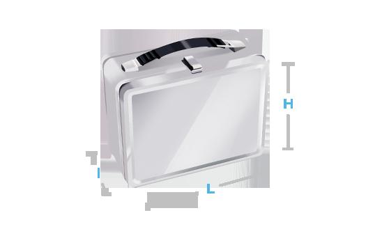 boite metal aluminium fabrication forme avec poignée