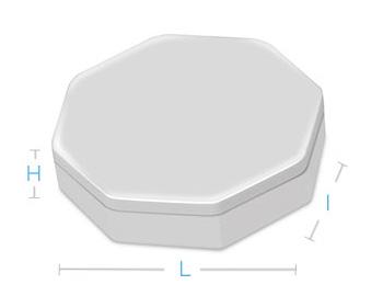 boite metal aluminium fabrication forme octogonale
