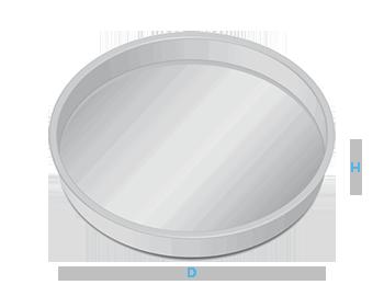 boite metal aluminium fabrication forme plateau