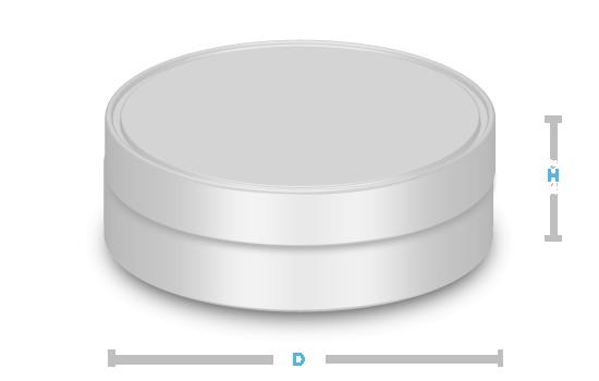 boite metal aluminium fabrication forme ronde